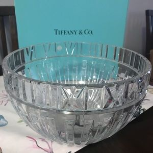Tiffany Crystal Bowl